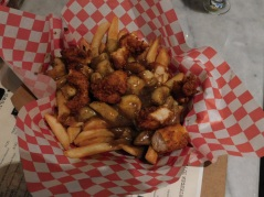 Poulet Chaud: Traditional Poutine with Cluckin' Hot Tenders