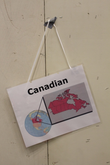 We are Canadian!