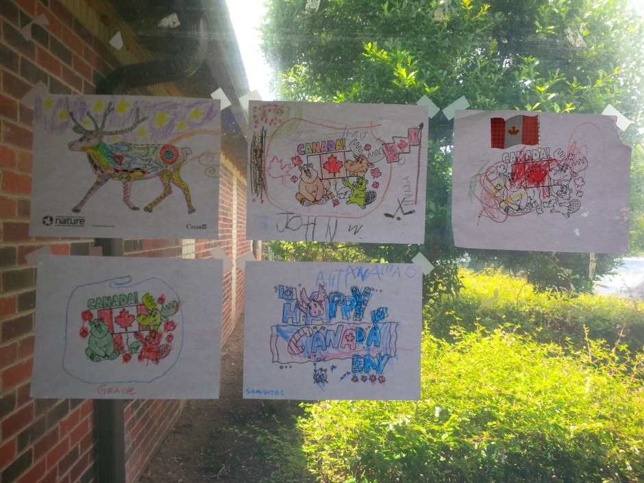5 drawings submitted for colouring contest